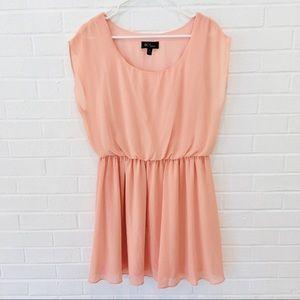 BCX Peach Gauze Dress XL